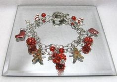 Christmas Playfulness  - Jewelry creation by Linda Foust