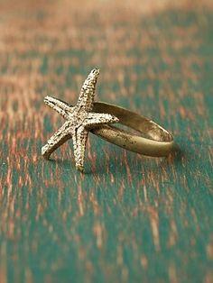I want this starfish ring so bad!