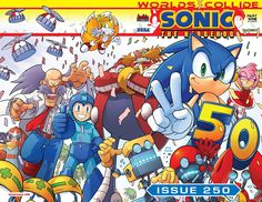 ON SALE TODAY: The epic 250th issue of SONIC THE HEDGEHOG! You won't want to miss out on this! Pick up a copy at your local comic shop. www.comicshoplocator.com