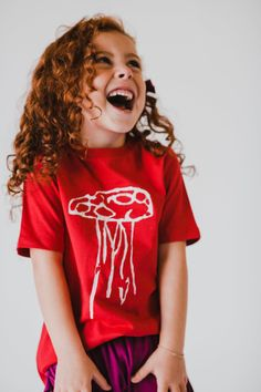 d669ebcd730879 Indi Scout | Organic Mushroom T-shirt Children, Kids, Kid Styles, Cotton