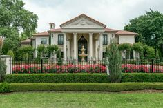 5807 Watson Avenue is one of Dave Perry-Miller Real Estate's homes for sale in Preston Hollow. At the time of this pinning, Markus Hirschbrich was offering the property for $3,950,000. #mansion #luxury #estate