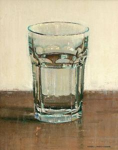 Image result for water in a glass painting famous