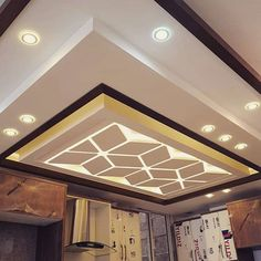 Best Miscellaneous Design in India Wooden Ceiling Design, Drawing Room Ceiling Design, Interior Ceiling Design, Showroom Interior Design, House Ceiling Design, Ceiling Design Living Room, Ceiling Light Design, Ceiling Decor, Modern Interior Design
