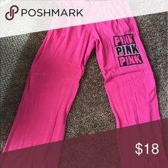 Victoria's Secret Pink Medium Black Sweatpants Don't think I ever even wore them! 😎 Smoke-free home. 🚭 same day shipping! 📦 see all my other listings & positive feedback! 🎀 Have a great day! ❤️ PINK Victoria's Secret Pants