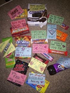 22 Diy Valentine Gifts In A Jar Gift Basket Ideas Pinterest