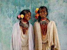 Kondha Girls, Odisha, Eastern India