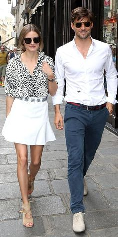 Olivia Palermo and Johannes Huebl: Their Most Stylish Couple Moments - July 2, 2013 from #InStyle