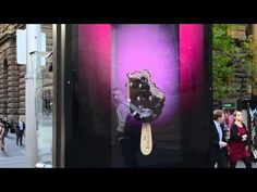 Live on the streets of Sydney in May, 2012, this campaign uses facial recognition technology to identify a smile from a passer-by, which then launches the interactive element of the campaign, allowing the viewer to eat the Magnum, virtually.