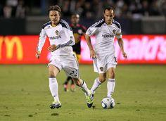 David Beckham and Landon Donovan Photo - New York Red Bulls v Los Angeles Galaxy - 2nd Leg