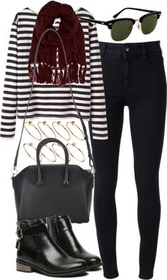 styleselection:  outfit for college in autumn by im-emma featuring ASOS