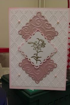 Soft beautiful card