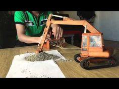 Project Wooden Hydraulic Excavator ( IX-C + X-C ) - YouTube