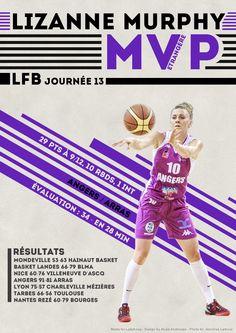 Lizanne Murphy - MVP Etrangère - LFB Journée #13