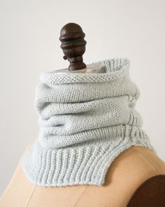 Laura's Loop: Structured Alpaca Cowl in Purl Soho's New Alpaca Pure! - The Purl Bee