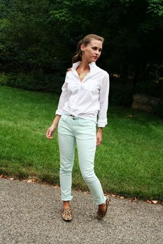 jillgg's good life (for less) | a style blog: my outfit: minty keen! #ootd #whatiwore