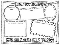 Martin Luther King Freebie & New Things - Creekside Teacher Tales - Martin Luther King worksheets - School Holidays, School Fun, Mlk School, Winter Holidays, School Stuff, School Ideas, Martin Luther King Timeline, Martin Luther King Birthday, Mlk Jr Day