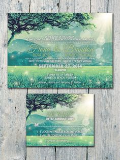 Digital Printable Files Happy Evergreen by WeddingSundaeShop