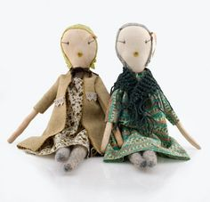 home-made dolls