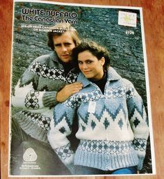 White Buffalo Pattern His or Hers Cardigan Pullover or by Mostable, $8.00