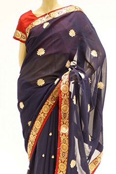 "RBS3159 Blue and Red Party Saree Bollywood Indian Party Saree Stitched Blouse (Chest Size 38"") Krishna Sarees http://www.amazon.co.uk/dp/B00MEM4ZUS/ref=cm_sw_r_pi_dp_pe7-tb1MZHVYV"