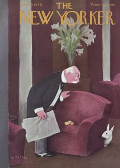 The New Yorker - Saturday, March 23, 1940 - Issue # 788 - Vol. 16 - N° 6 - Cover by : William Cotton