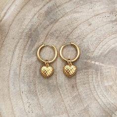 Juliet Heart Hoops Small (6)sm Handmade Jewellery, Jewelry Accessories, Personalized Items, Heart, Unique, Handmade Jewelry, Jewelry Findings, Handcrafted Jewelry, Handmade Jewelry Findings