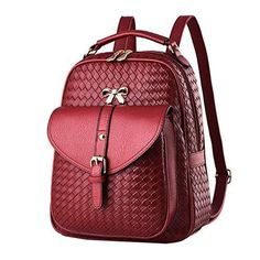 Cheap backpack shoulder bag, Buy Quality designer leather backpack directly from China fashion leather backpack Suppliers: Backpack female models 2018 latest design pu leather backpacks luxury women backpack fashion shoulder bags for women Black Leather Backpack, Leather Bag, Leather Backpacks, Fashion Bags, Fashion Backpack, Fashion Women, Backpack Brands, Backpack 2017, School Bags For Girls