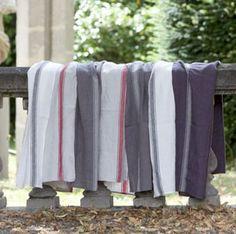 Nappe et serviette en lin lavé Vivario Harmony