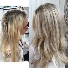 "854 Likes, 39 Comments - Blonde Hair Colour Studios (@vivalablonde) on Instagram: ""Creamy gold toner on a super bright blonde base #dreamhair #blonde by @hairbygracec"""
