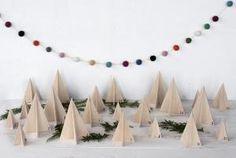 12 DIY Advent Calendars to Help You Count Down Christmas: DIY Wooden Trees Advent Calendar