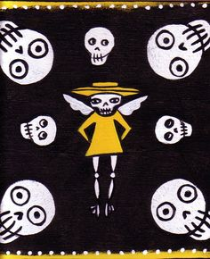 Angel of Death and Skulls
