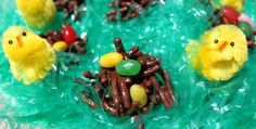 The two links below will show you how to make EGG ART and EGG CHOCOLATE NEST... this kids just love these two treats its easy, fun and they will just be amazing how everyone sees how creative they are...