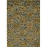 Strata Blue/Gold Area Rug
