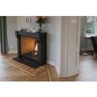 Jaren '30 Stijl Kamer en Suite Decor, Wood, Ensuite, Wood Stove, Home Decor, Home Appliances, Fireplace
