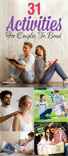 31 Fun Activities For Couples To Bond : Going out for a movie or dinner with your partner gets boring after a while. Here are the list of activities for couples Should Do Together. Best Relationship Advice, Ending A Relationship, Strong Relationship, Marriage Advice, Relationship Tattoos, Marriage Retreats, Relationship Challenge, Relationship Questions, Relationship Pictures