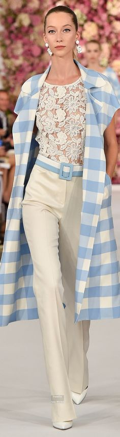 Oscar de la Renta Spring Summer 2015 Ready-To-Wear collection \\
