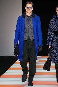 Giorgio Armani Fall/Winter 2012 #mfw