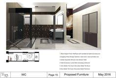 Corso interior design – livello intermedio (madeininterior.it): progetto di Adriana Marconi.