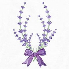 Lavender Delight 6 | Embroidery Delight | Your source for all embroidery designs, Applique, Quilt Blocks, Animal, Floral, Lacework, etc.
