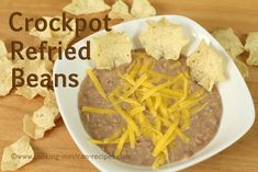Making crockpot refried beans is easy. I'll show you my secret to making them delicious. Visit my website: http://www.cooking-mexican-recipes.com My Free New...