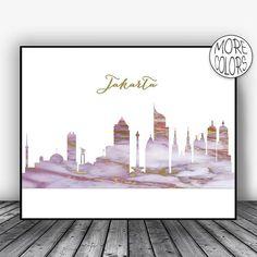Jakarta Skyline, Jakarta Print, Jakarta Indonesia Art, Office Decor, Office Art, Modern Art Print, Skyline Art, ArtPrintsZoe #JakartaPrint #ModernArt #SkylineArt #OfficeDecor #ModernArtPrint #ArtPrintsZoe #JakartaIndonesia #JakartaSkyline #OfficeArt #Jakarta