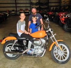 Thanks to Sharlie Richardson, and CJ and Claude Dupree from Ellisville MS for getting a 2007 Harley-Davidson Sportster XL883 at Hattiesburg Cycles