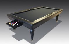 A custom made B-Bespoke Pool Table Tennis Diner - The Games Room Company Game Room, Bespoke, Custom Made, Tennis Table, Games, Pool Tables, Room Ideas, Living Room, Plays