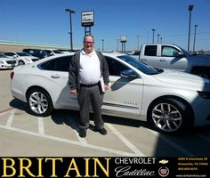 https://flic.kr/p/DBMmaM | Congratulations John on your #Chevrolet #Impala from Mike Donahoe at Britain Chevrolet Cadillac! | deliverymaxx.com/DealerReviews.aspx?DealerCode=I827