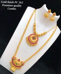 1 Gram Gold Jewellery, Bridal Jewellery, Gold Jewelry, Beaded Jewelry, Indian Jewellery Design, Indian Jewelry, Jewelry Design, Bridal Necklace, Gold Necklace