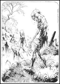 Zombies by Bernie Wrightson