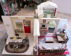 Barbie Folding Pretty House Custom Make-Over by *disenchanted* - Deb, via Flickr