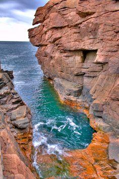 Acadia National Park | last one from acadia national park i promise sandy thunder hole an ...