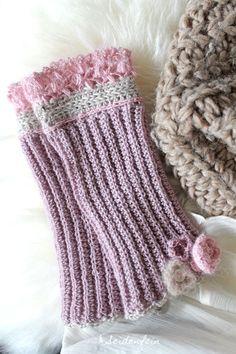 Giveaway, Stulpen, DIY, häkeln, Anleitung, gloves, tutorial, crochet, handcraft, present