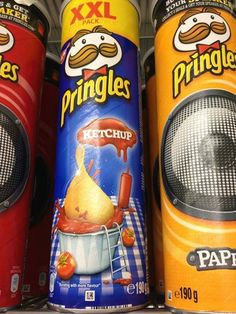 Curiosities: Pringles Flavors From Around the World